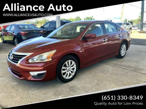2015 Nissan Altima for sale at Alliance Auto in Newport MN