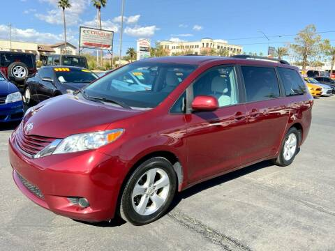 2016 Toyota Sienna for sale at Charlie Cheap Car in Las Vegas NV