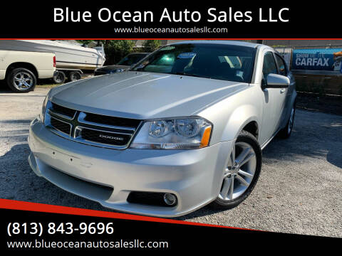 2011 Dodge Avenger for sale at Blue Ocean Auto Sales LLC in Tampa FL