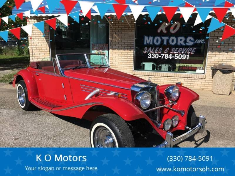 1936 Mercedes-Benz R-Class for sale at K O Motors in Akron OH