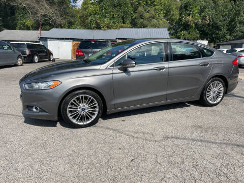 2014 Ford Fusion for sale at Adairsville Auto Mart in Plainville GA