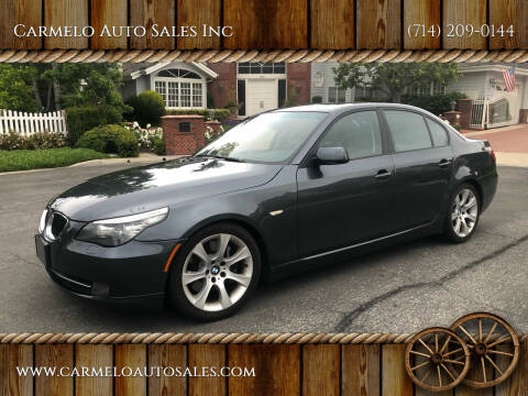 2008 BMW 5 Series for sale at Carmelo Auto Sales Inc in Orange CA