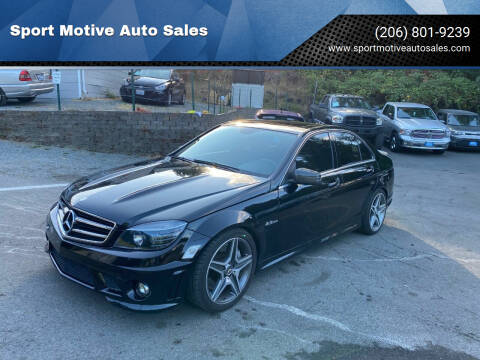 2009 Mercedes-Benz C-Class for sale at Sport Motive Auto Sales in Seattle WA