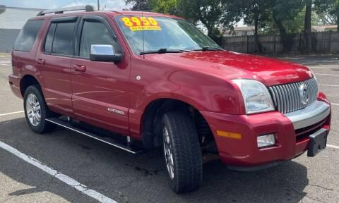 2008 Mercury Mountaineer for sale at Blvd Auto Center in Philadelphia PA