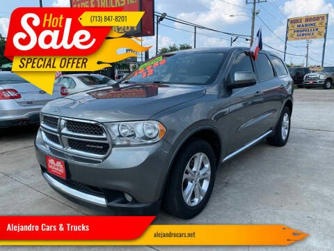 2012 Dodge Durango for sale at Alejandro Cars & Trucks Inc in Houston TX