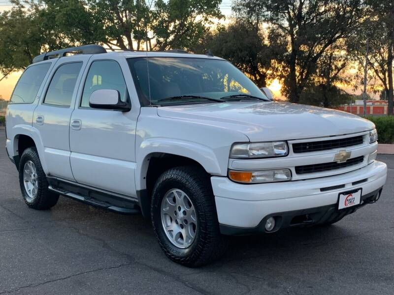 2006 Chevrolet Tahoe for sale at COUNTY AUTO SALES in Rocklin CA