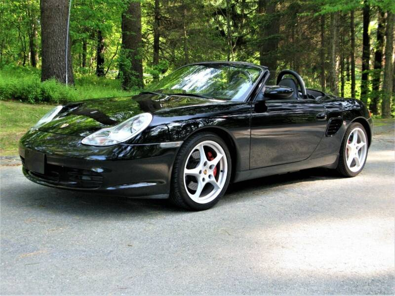 2003 Porsche Boxster for sale at The Car Vault in Holliston MA