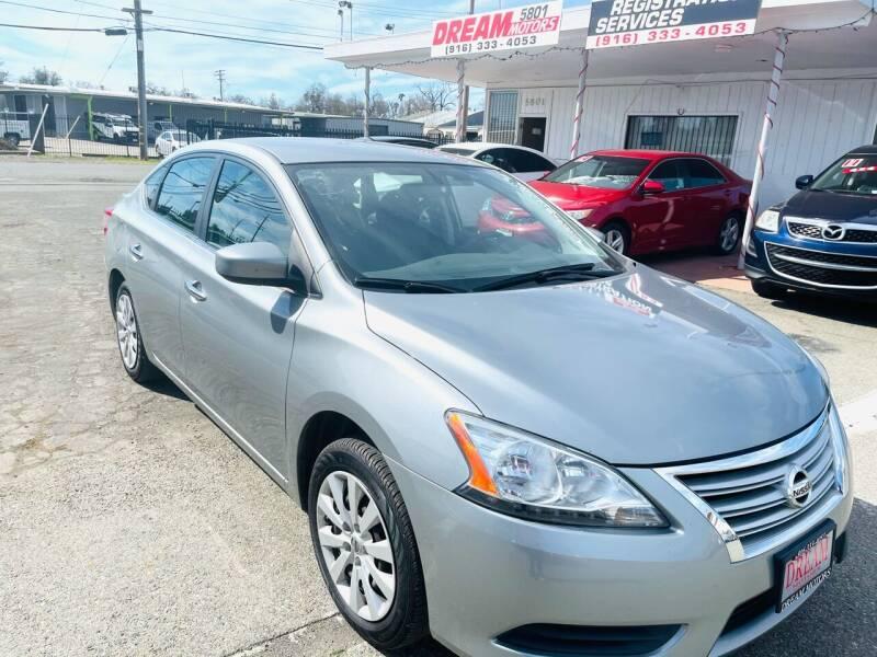 2014 Nissan Sentra for sale at Dream Motors in Sacramento CA