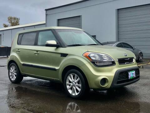 2013 Kia Soul for sale at DASH AUTO SALES LLC in Salem OR