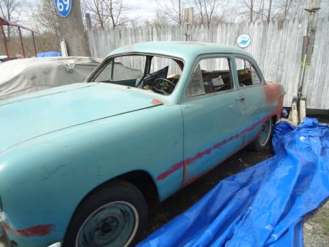 1951 Ford Super Deluxe for sale at Marshall Motors Classics in Jackson MI