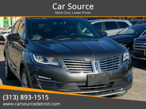 2017 Lincoln MKC for sale at Car Source in Detroit MI