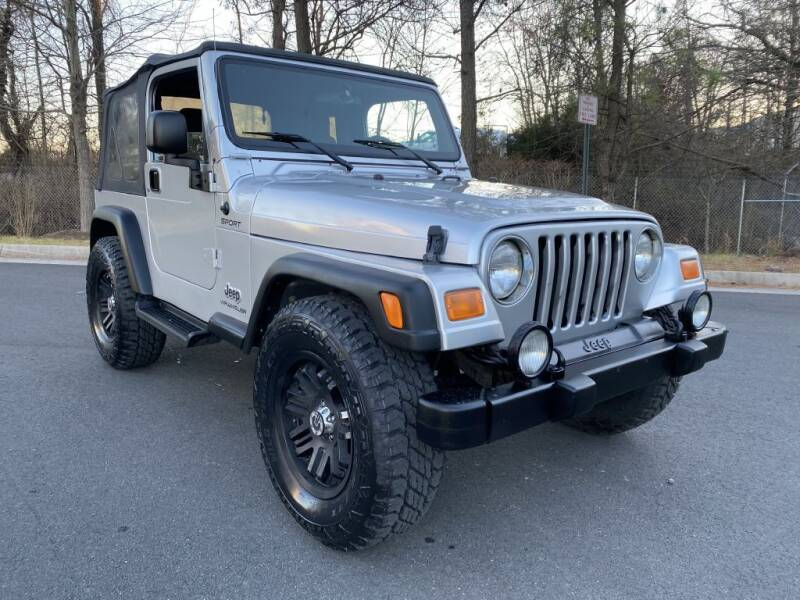 2004 Jeep Wrangler for sale at PM Auto Group LLC in Chantilly VA