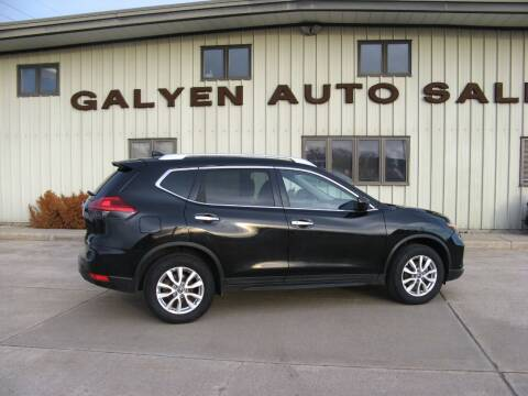 2017 Nissan Rogue for sale at Galyen Auto Sales Inc. in Atkinson NE