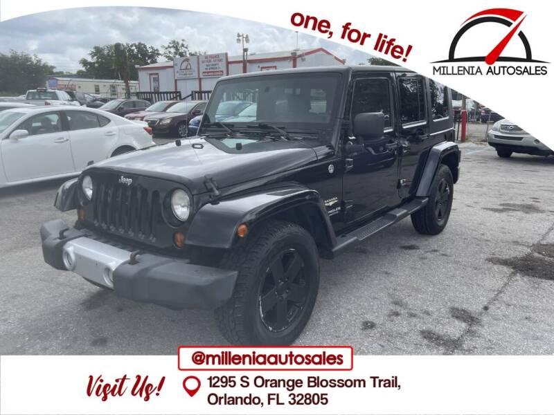 2008 Jeep Wrangler Unlimited for sale at Millenia Auto Sales in Orlando FL