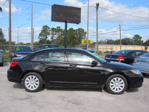 2013 Chrysler 200 for sale at Checkered Flag Auto Sales EAST in Lakeland FL