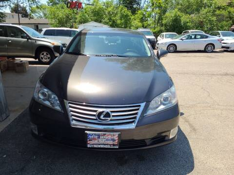 2012 Lexus ES 350 for sale at New Wheels in Glendale Heights IL