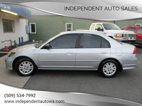 2005 Honda Civic for sale at Independent Auto Sales #2 in Spokane WA