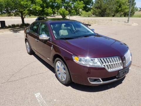 2012 Lincoln MKZ Hybrid for sale at Red Rock's Autos in Denver CO