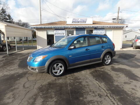 2008 Pontiac Vibe for sale at DeLong Auto Group in Tipton IN