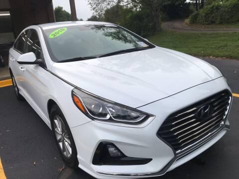 2018 Hyundai Sonata for sale at Scotty's Auto Sales, Inc. in Elkin NC