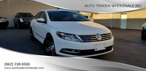 2013 Volkswagen CC for sale at Auto Trader Wholesale Inc in Saddle Brook NJ