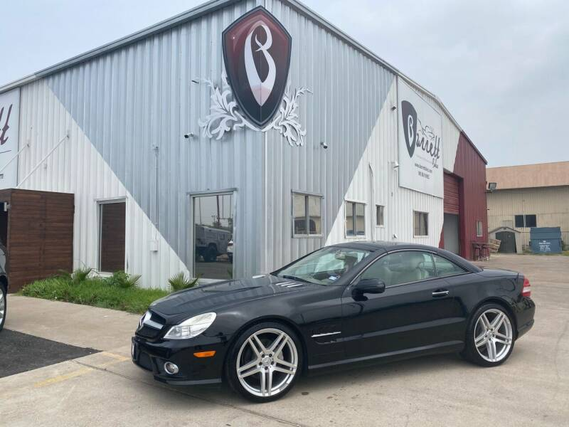 2009 Mercedes-Benz SL-Class for sale at Barrett Auto Gallery in San Juan TX