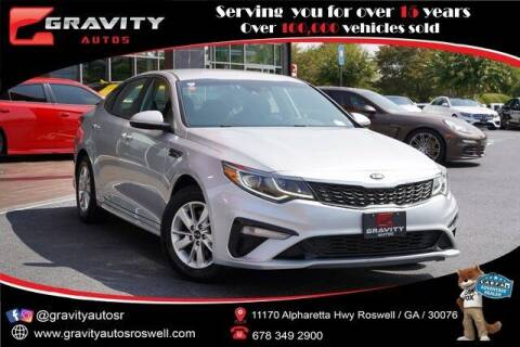 2019 Kia Optima for sale at Gravity Autos Roswell in Roswell GA