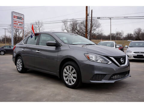 2016 Nissan Sentra for sale at Sand Springs Auto Source in Sand Springs OK