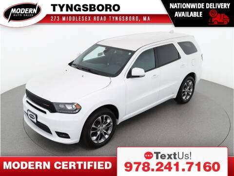 2019 Dodge Durango for sale at Modern Auto Sales in Tyngsboro MA