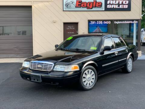 2009 Ford Crown Victoria for sale at Eagle Auto Sales LLC in Holbrook MA