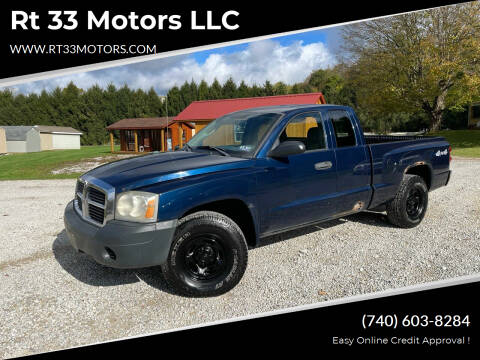 2005 Dodge Dakota for sale at Rt 33 Motors LLC in Rockbridge OH