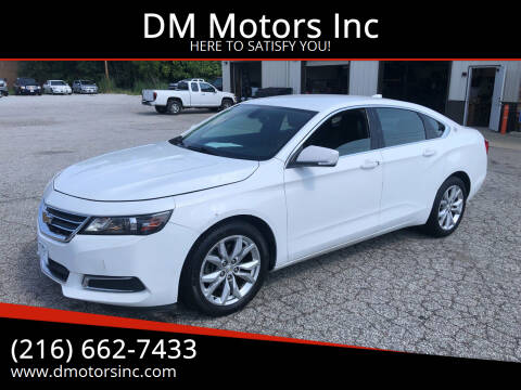 2016 Chevrolet Impala for sale at DM Motors Inc in Maple Heights OH