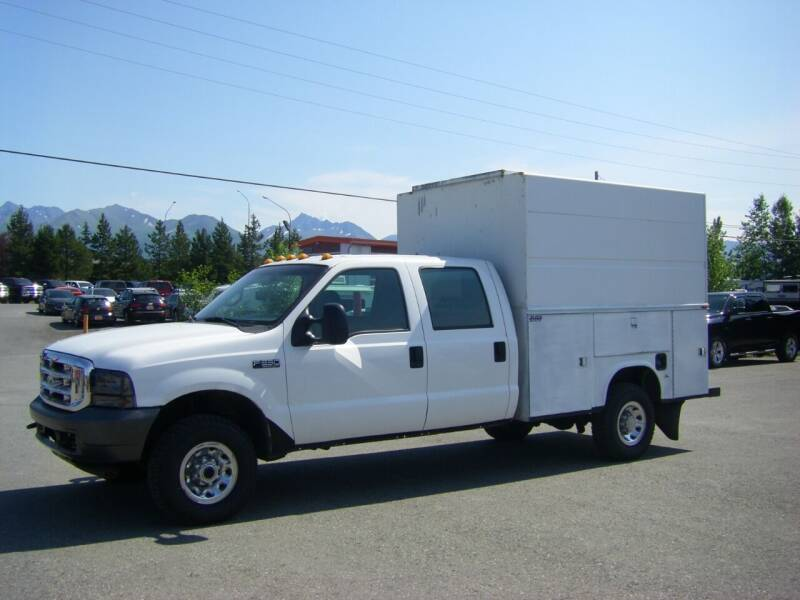 2002 Ford F-350 Super Duty for sale at NORTHWEST AUTO SALES LLC in Anchorage AK