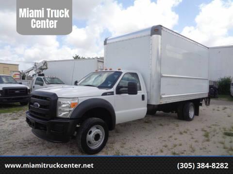 2015 Ford F-450 Super Duty for sale at Miami Truck Center in Hialeah FL