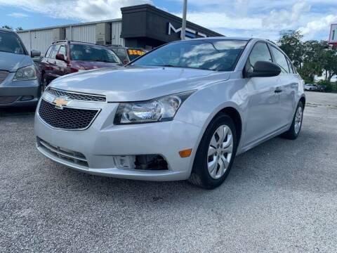 2012 Chevrolet Cruze for sale at JacksonvilleMotorMall.com in Jacksonville FL