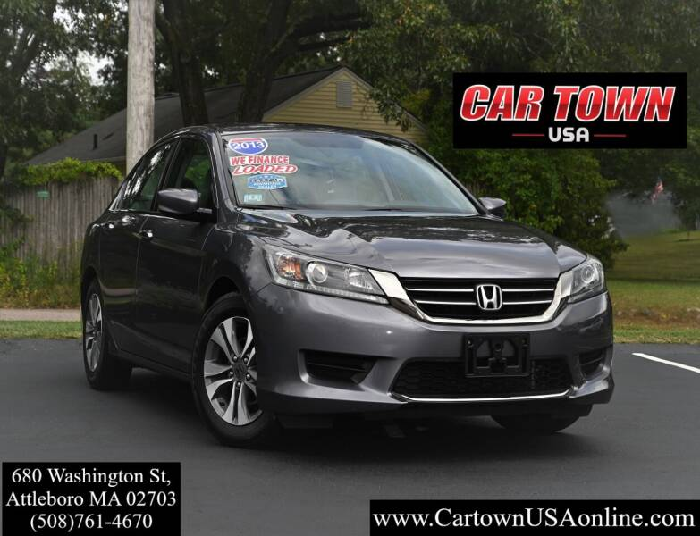 2013 Honda Accord for sale at Car Town USA in Attleboro MA