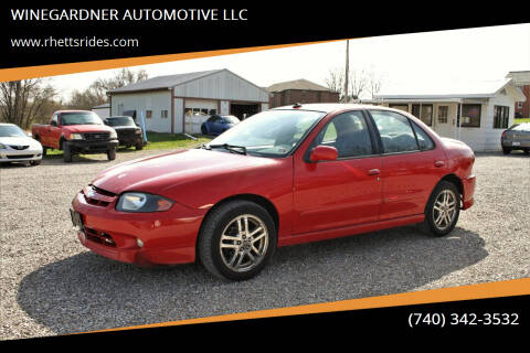 2003 Chevrolet Cavalier for sale at WINEGARDNER AUTOMOTIVE LLC in New Lexington OH