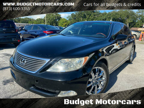 2008 Lexus LS 460 for sale at Budget Motorcars in Tampa FL