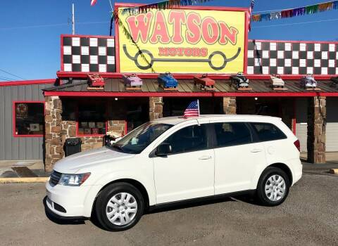 2013 Dodge Journey for sale at Watson Motors in Poteau OK