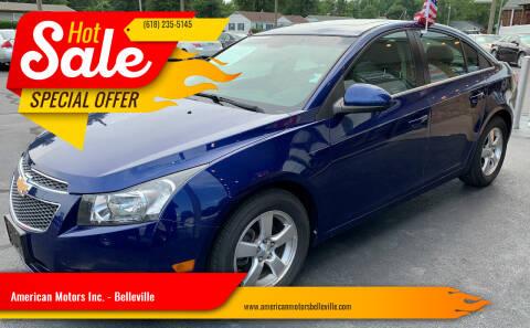 2012 Chevrolet Cruze for sale at American Motors Inc. - Belleville in Belleville IL