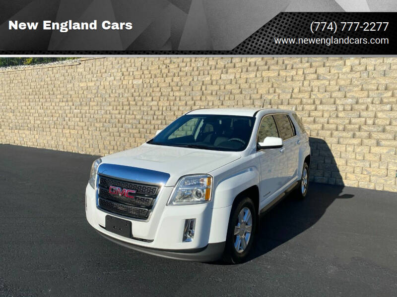 2013 GMC Terrain for sale at New England Cars in Attleboro MA