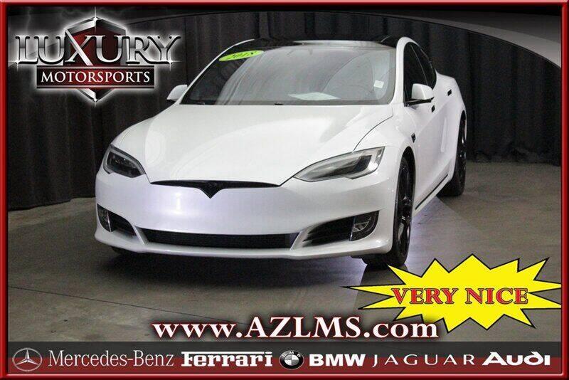 2018 Tesla Model S for sale at Luxury Motorsports in Phoenix AZ