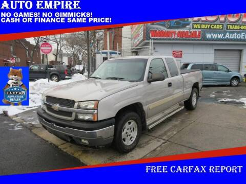 2005 Chevrolet Silverado 1500 for sale at Auto Empire in Brooklyn NY