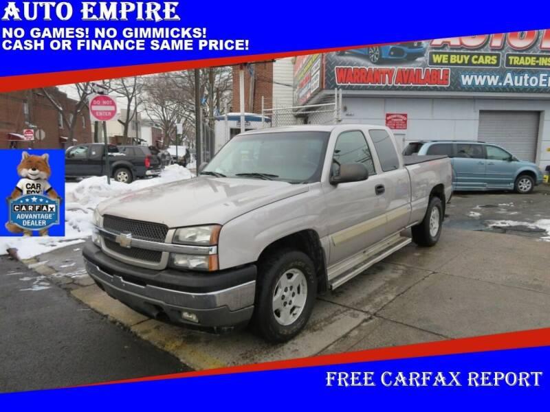 2005 Chevrolet Silverado 1500 for sale at Auto Empire in Brooklyn NY