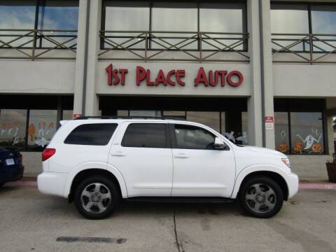 2011 Toyota Sequoia for sale at First Place Auto Ctr Inc in Watauga TX