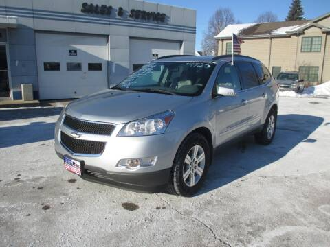2012 Chevrolet Traverse for sale at Cars R Us Sales & Service llc in Fond Du Lac WI