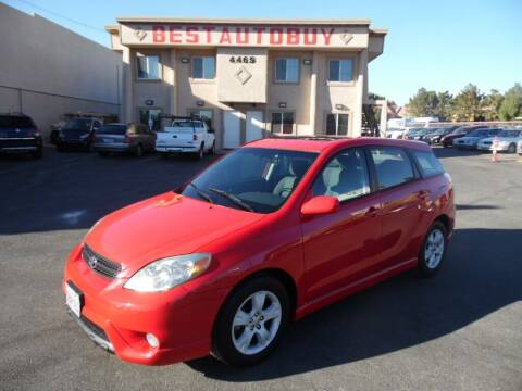 2006 Toyota Matrix for sale at Best Auto Buy in Las Vegas NV