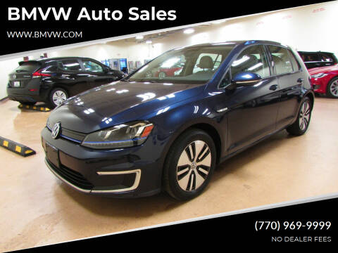 2016 Volkswagen e-Golf for sale at BMVW Auto Sales - Electric Vehicles in Union City GA