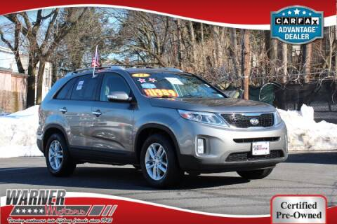 2014 Kia Sorento for sale at Warner Motors in East Orange NJ