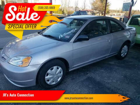 2002 Honda Civic for sale at JR's Auto Connection in Hudson NH